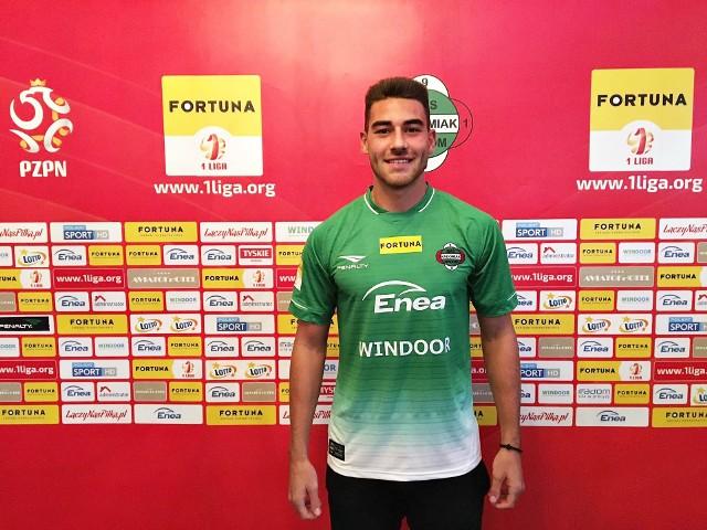 Nowy zawodnik w Radomiaku
