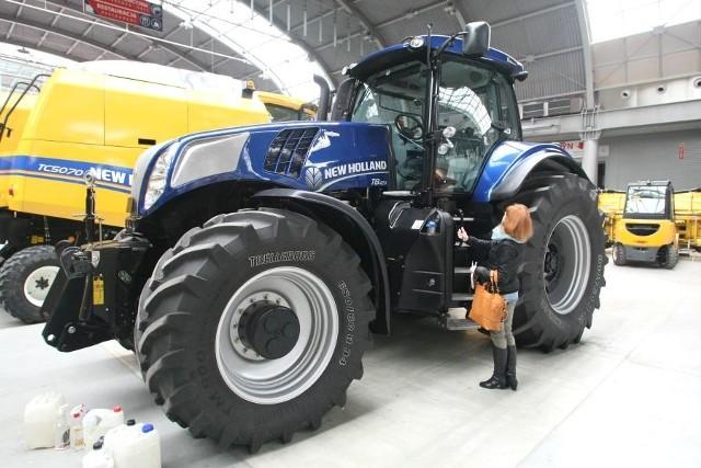 Podczas wystawy Agrotech zostanie zaprezentowana flagowa seria ciągników New Holland T8 Auto Command.