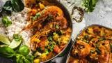 Pomysł na obiad. Curry z krewetkami i ryżem jaśminowym. W orientalnym stylu  [PRZEPIS]
