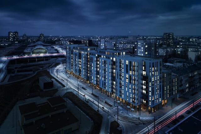 Tak będzie wyglądało osiedle Primo w Nowym Centrum Łodzi.