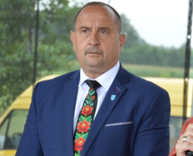 Adam Ruta, wójt gminy Łyszkowice