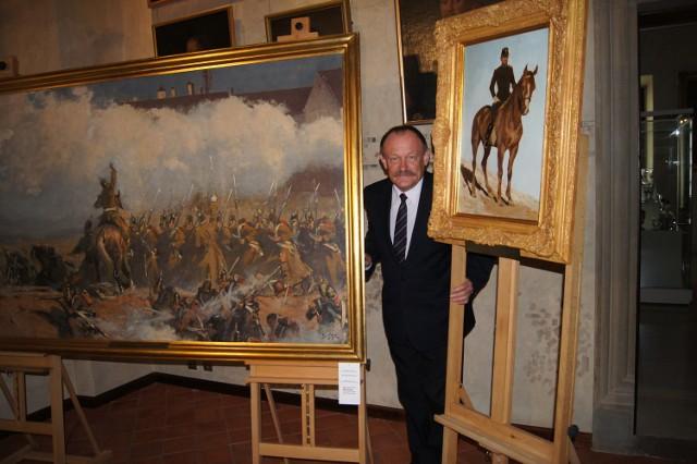 Andrzej Szpunar nie kryje zadowolenia z pozyskania obrazów Styki