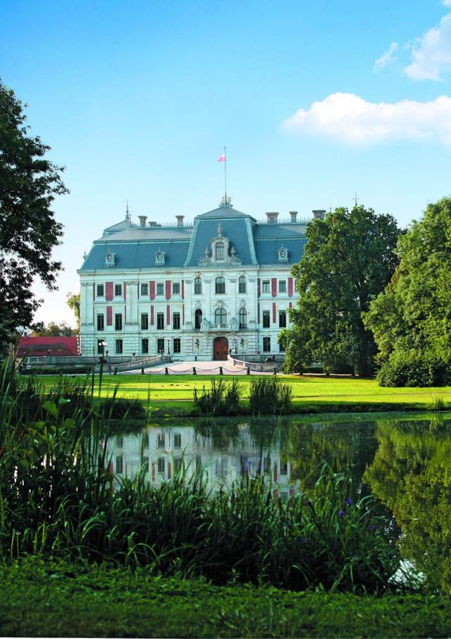 Muzeum Zamkowe w Pszczynie, widok od strony parku, fot. Maciej Kluss
