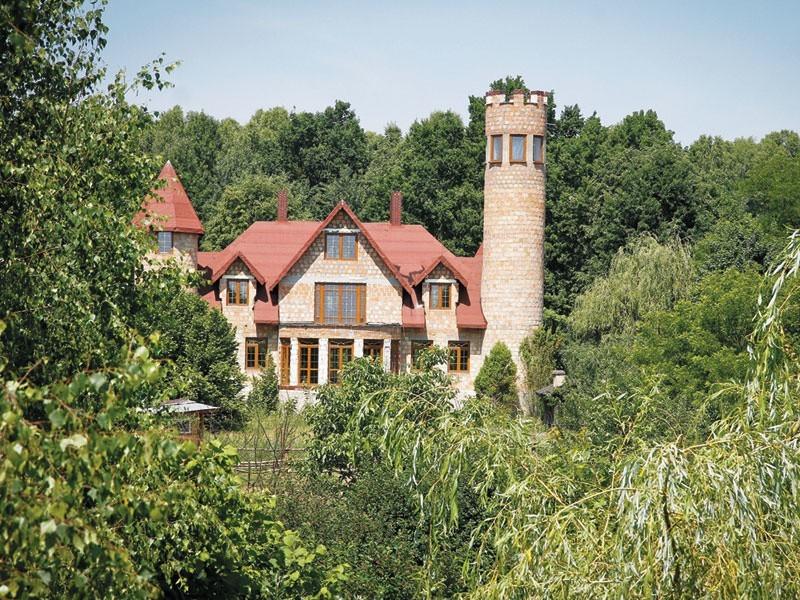 Wydumka nowobogackiego – tak o budowanym przez siebie domu mówi Golonko