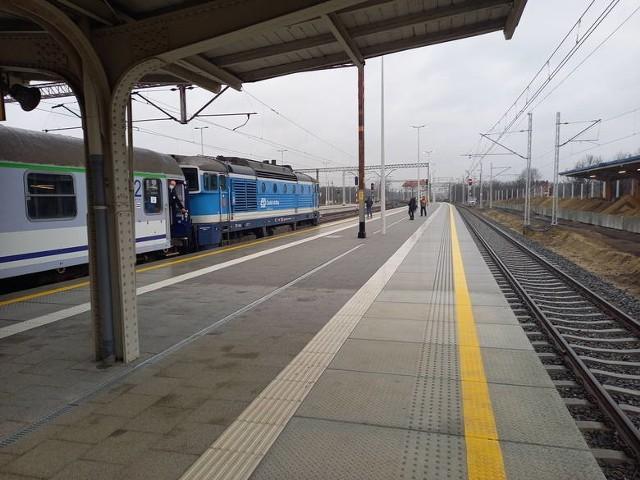 Pociągi dalekobieżne wróciły na Magistralę Podsudecką po ponad 10 letniej przerwie.