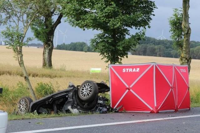 Zmarła trzecia osoba z wypadku w Noskowie pod Słupskiem