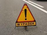 Poważny wypadek w Dopiewcu. Po zderzeniu dwóch aut jedno dachowało