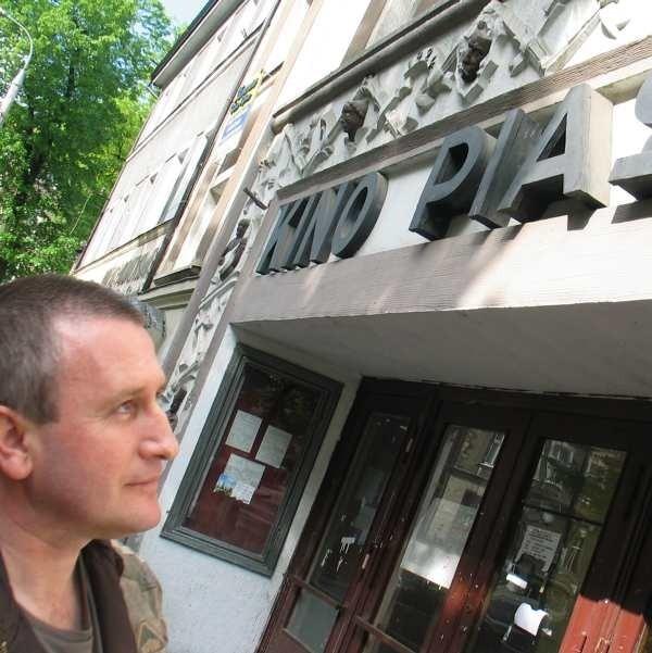 Robert Ilnicki ma do kina wyjątkowy sentyment, bo przepracował w nim kilkanaście lat