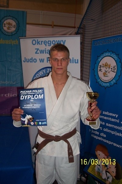 Zawodnicy Gryfa walczyli w Pucharze Polski w judo.