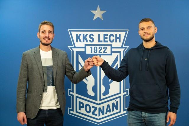 Jesper Karlstroem (z prawej) od stycznia będzie piłkarzem Lecha Poznań