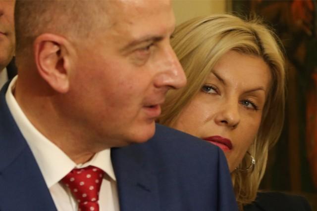 Rafał Dutkiewicz i Renata Granowska