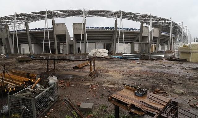 Stadion ma być gotowy pod koniec lipca.
