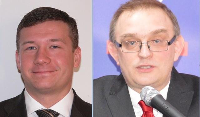 Michał Trzoska (z lewej) i Marcin Kosiorek