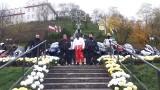 Niezwykła, kwiatowa kompozycja hitem sandomierskich obchodów Święta Niepodległości. Motocykliści dali popis [NOWE ZDJĘCIA]