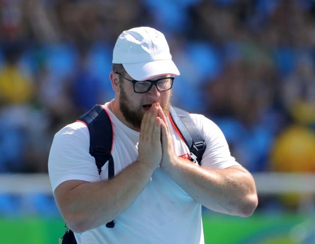 Rio 2016. Paweł Fajdek podczas eliminacji w rzucie młotem