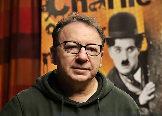 Zbigniew Zamachowski w łódzkim kinie Charlie