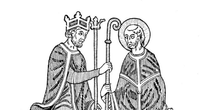 Cesarz Henryk IV stał boso trzy dni w Kanossie, by papież Grzegorz VII zdjął ekskomunikę
