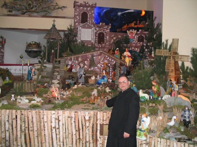 Szopka księdza Józefa Dudziaka jest wizytówką całego województwa zachodniopomorskiego.