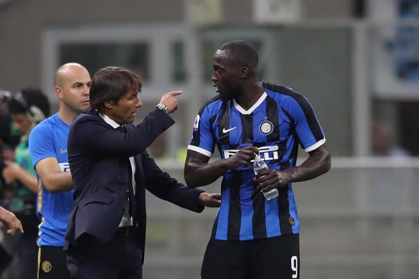 Antonio Conte i Romelu Lukaku