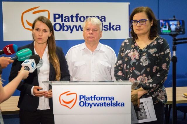 """POLSA z Gdańska do stolicy. Borusewicz, Pomaska i Lieder mówią """"nie"""""""
