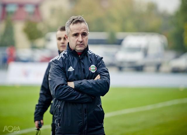 Jacek Magnuszewski ma już gotowy skład na sobotni mecz z GKS Tychy na stadionie miejskim przy ulicy Narutowicza 9.