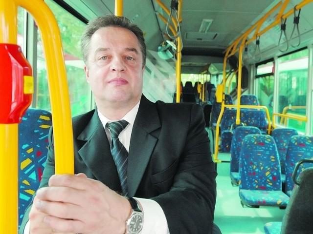 - Od stycznia jesteśmy spółką. Możemy brać kredyty, leasingować pojazdy. Autobusy chcemy nabyć w leasingu - powiedział nam w środę Roman Maksymiak.