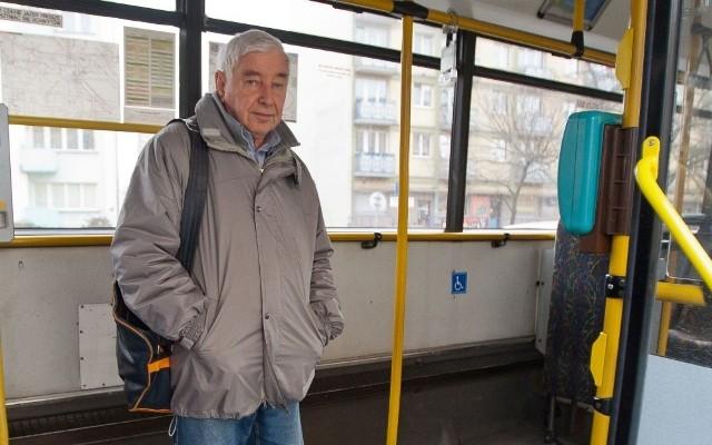 Tadeusz Terlecki: jako kierowca miałem prawo zdecydować, czy rower jedzie  autobusem, czy nie. Udowodnię to przed sądem