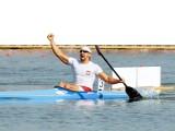 Marek Twardowski, kajakarz, z Szeged przywiózł złoty medal