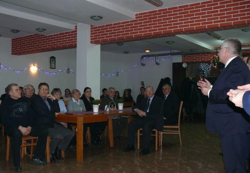 Gościem specjalnym spotkania noworocznego we Włoszczowie był poseł Krzysztof Lipiec.