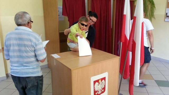 Głosowanie w Strzelcach Opolskich.