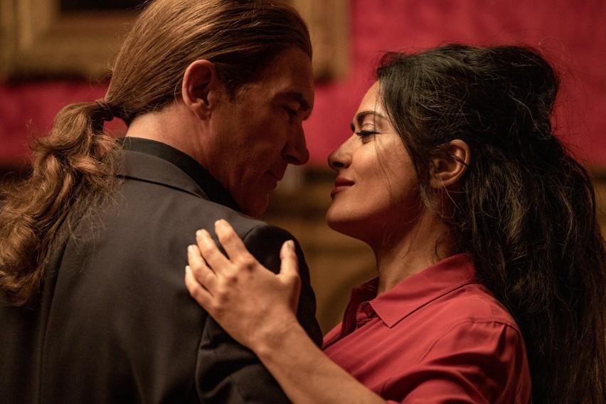 "Salma Hayek i Antonio Banderas na planie filmu ""Bodyguard i..."