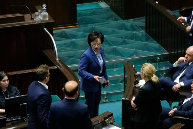 Posiedzenie Sejmu. Marszałek Elżbieta Witek