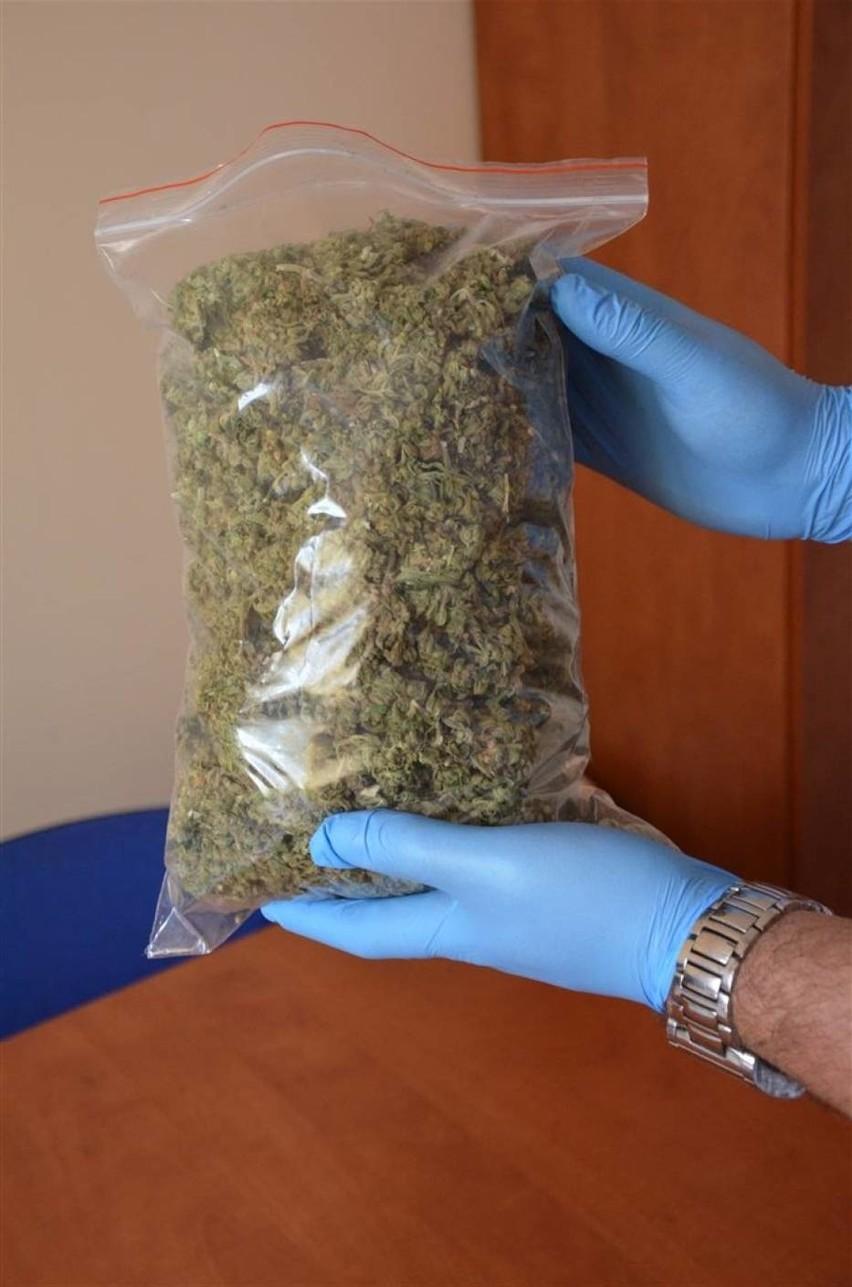 Marihuana była schowana w tapczanie