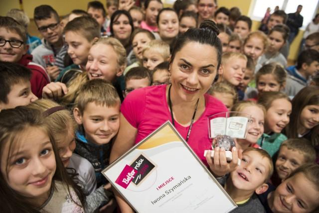 Iwona Szymańska, nauczycielka ze Sławkowa została Belfrem Roku 2016