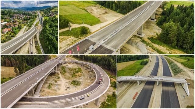 Budowa zakopianki. Zobacz najnowsze zdjęcia z budowy ekspresowego odcinka tej górskiej trasy!