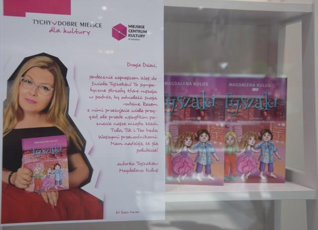 Tyszaki - wystawa ilustracji do książki Magdaleny Kulus w galerii handlowej Gemini Park w Tychach