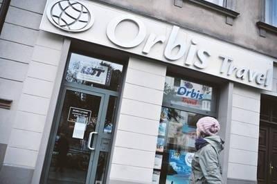 W krakowskim biurze Orbisu zastaliśmy zgaszone światło i zamknięte drzwi Fot. Kamila Zarembska
