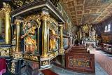 Wirtualne zwiedzanie zabytków Małopolski. Kościół pw. św. Jana Chrzciciela w Orawce