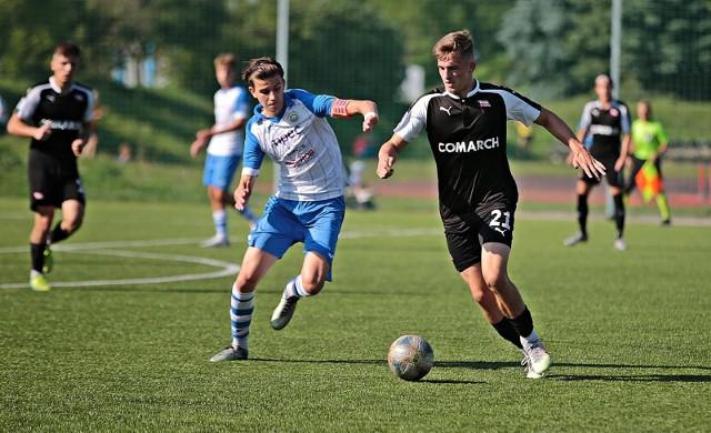 Cracovia pokonała w derbach Hutnika Kraków i awansowała dzięki temu na podium Centralnej Ligi Juniorów U-18.