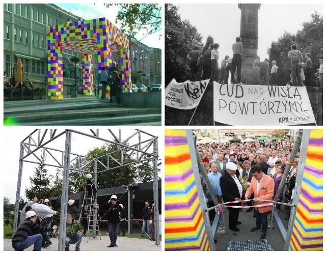 Artystyczny, niepodległościowy, metalowy. W ostatniej dekadzie Białystok podchodził trzy razy do budowy łuku triumfalnego. Udało się raz.