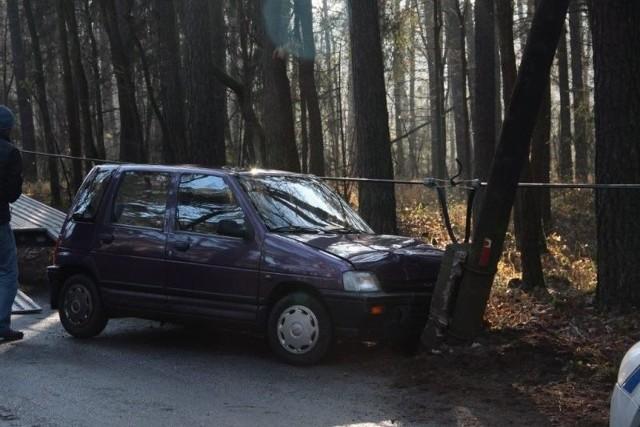 Do wypadku doszło w Lędzinach na ulicy Dworcowej.
