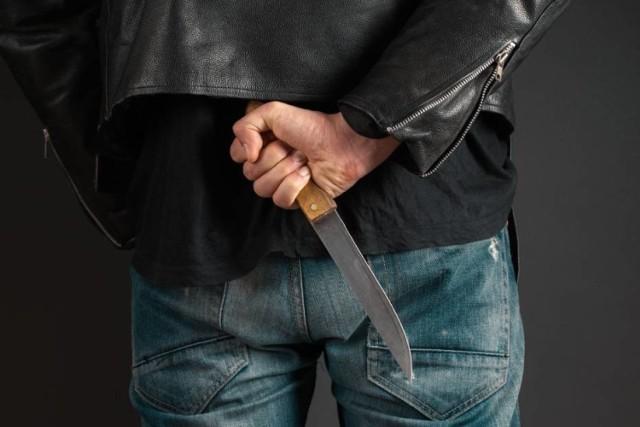 Policjanci z Tczewa zatrzymali nożownika