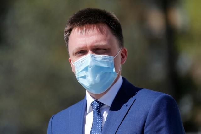 Wybory prezydenckie 2020. Szymon Hołownia zapowiada trzy filary zmian w służbie zdrowia