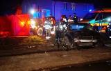 Wypadek koło Włynkowa. Zginął 37-letni mężczyzna [zdjęcia]