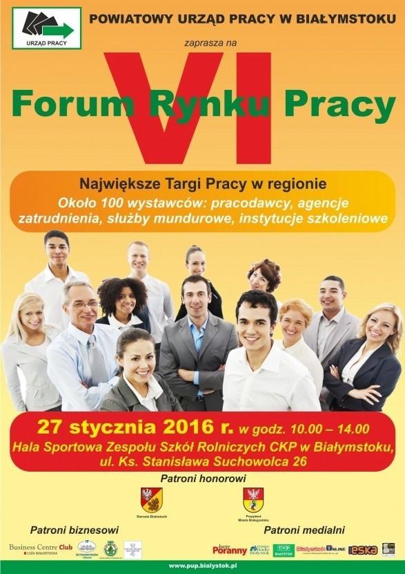 VI Forum Rynku Pracy w Białymstoku