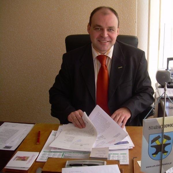Wojciech Bernatowicz w ostatnich wyborach samo-rządowych został wybrany na prezydenta miasta.