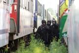 Wrocław: Atak terrorystyczny na pociąg z pasażerami. To tylko ćwiczenia