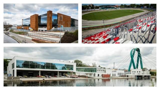 Nowa trybuna na stadionie Polonii już gotowa, pięknie prezentuje się zupełnie nowy basen Astoria. Efektowna jest także przystań wioślarska przy Żupy. Dużo zmieniło się na sportowej mapie Bydgoszczy. Zobaczcie zdjęcia >>>