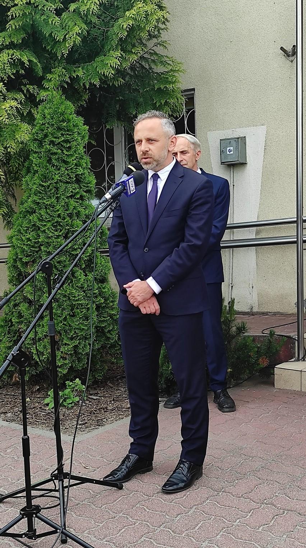 Wojewoda Mikołaj Bogdanowicz gościł dziś w Kijewie...