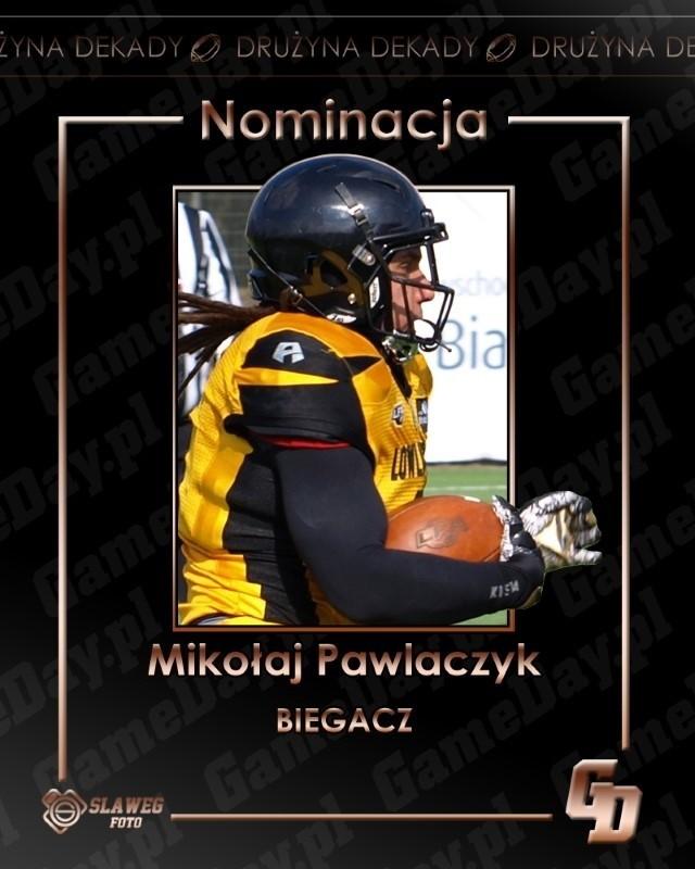 Mikołaj Pawlaczyk  - 398 wśród biegaczy